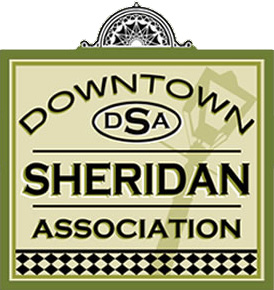 downtown sheridan association - before logo