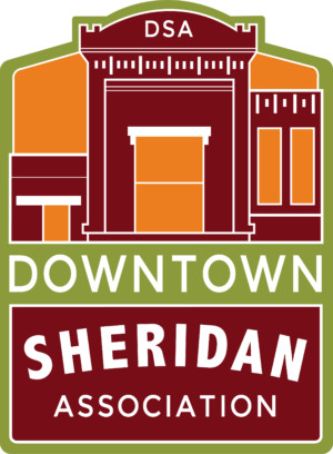 downtown sheridan association - new logo