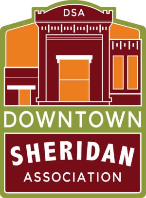 downtown sheridan association - new logo