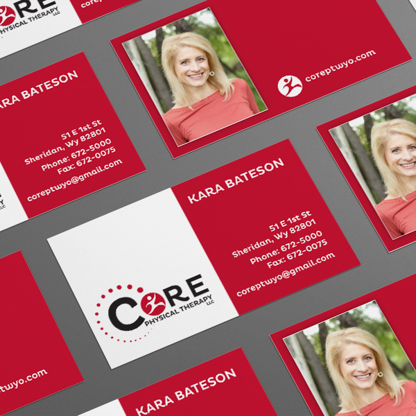Core Physical Therapy Business Cards