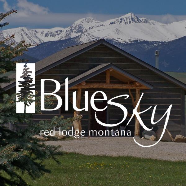 Blue Sky Cabins Logo