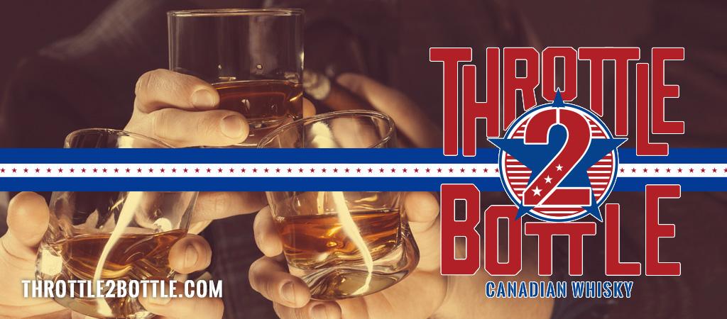Throttle 2 Bottle Canadian Whisky - Sheridan Wyoming