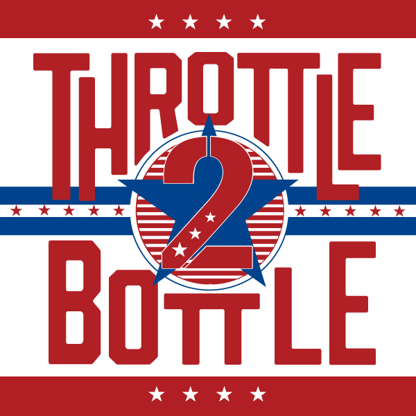 Throttle 2 Bottle main logo
