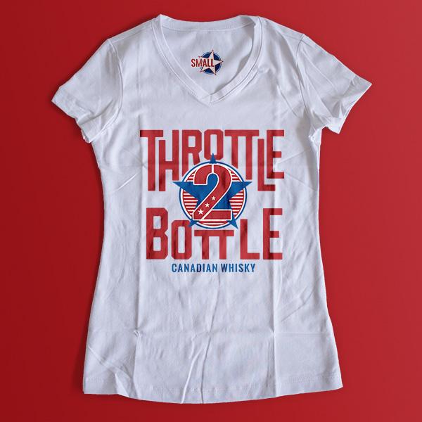 Throttle 2 Bottle shirt