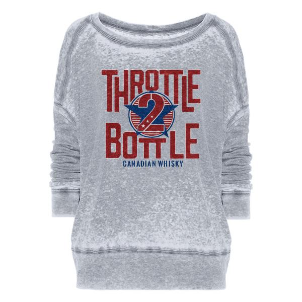 Throttle 2 Bottle sweatshirt
