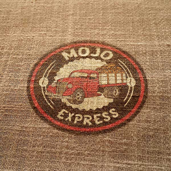 Mojo Express - Mobile Coffee Truck Logo