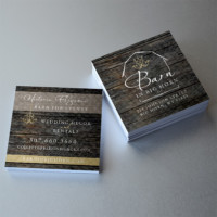 Barn in Big Horn business cards