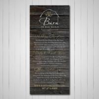 Barn in Big Horn rack card