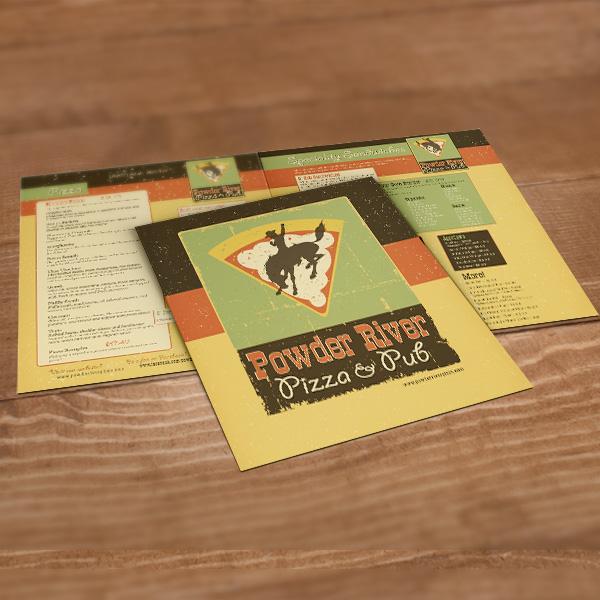 powder river pizza menu
