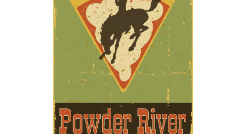 powder river pizza and pub logo