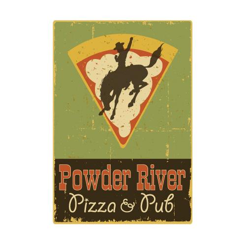 powder river pizza and pub logo