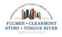 Sheridan County Public Library System - logo design - branding design
