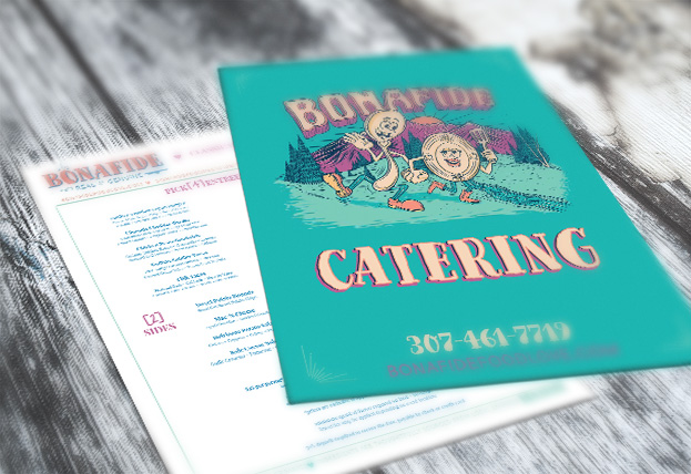 Food Truck Marketing Materials and Menus