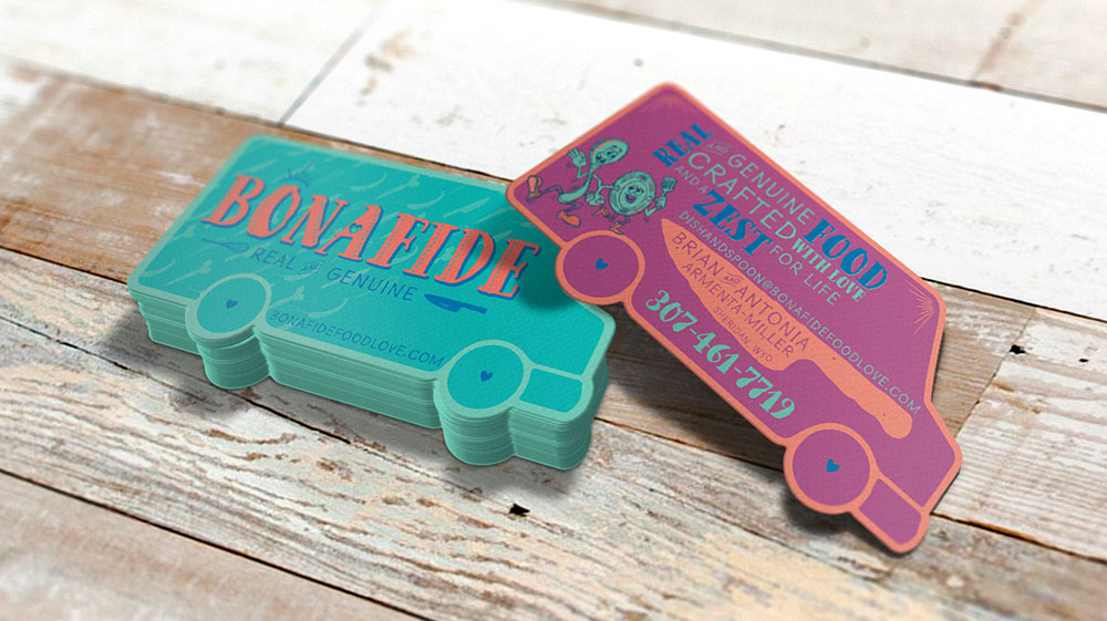 Bonafide >> Food Truck Branding and graphic design - 3 Willow Design