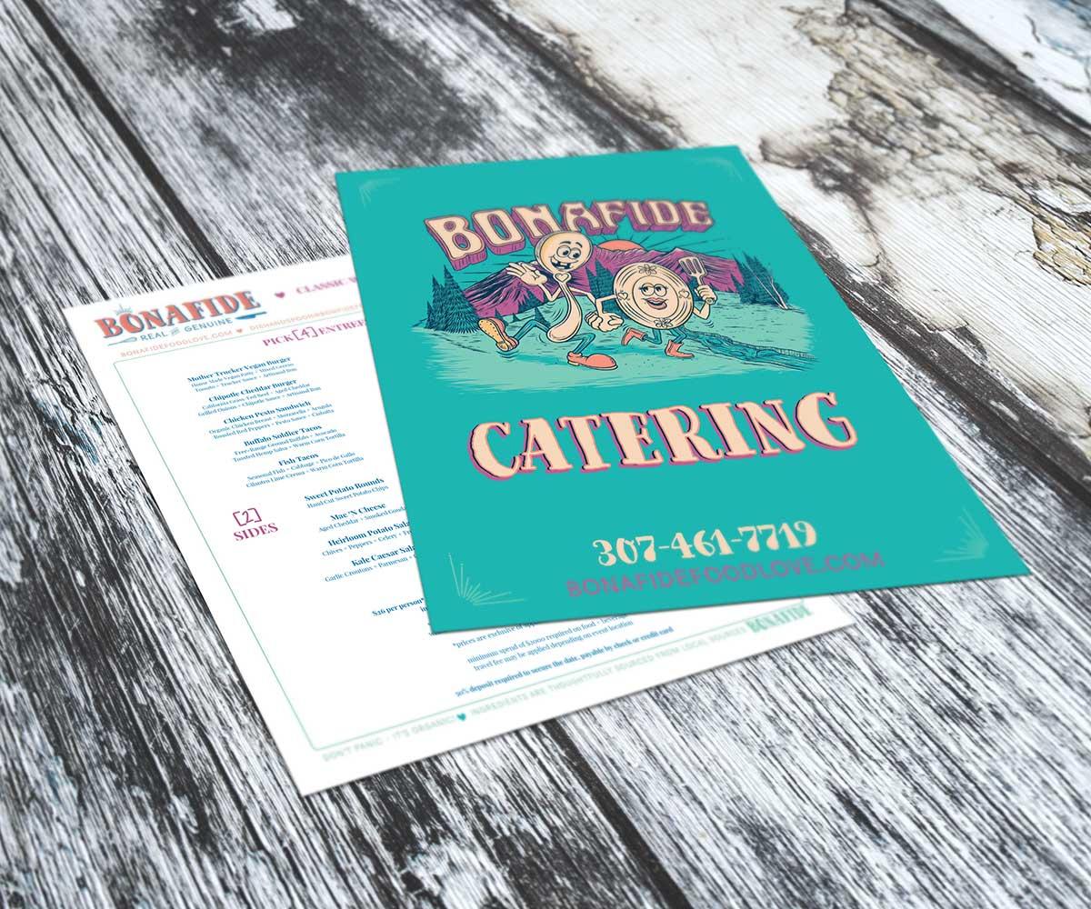 food truck catering menu