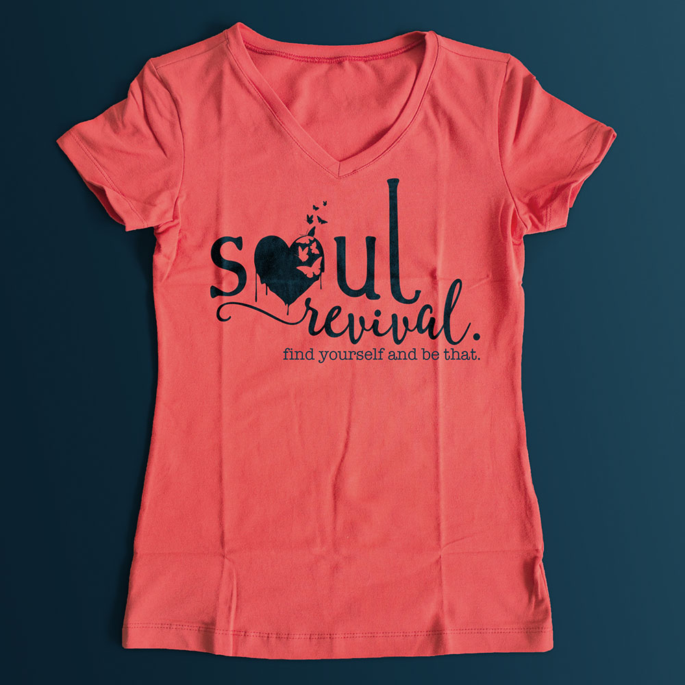 soul revival - yoga and art studio apparel idea
