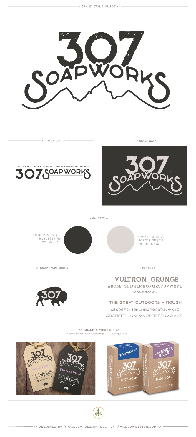 graphic design packaging soap company