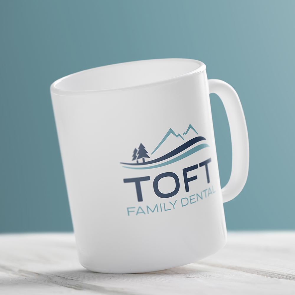 Dental office mug design