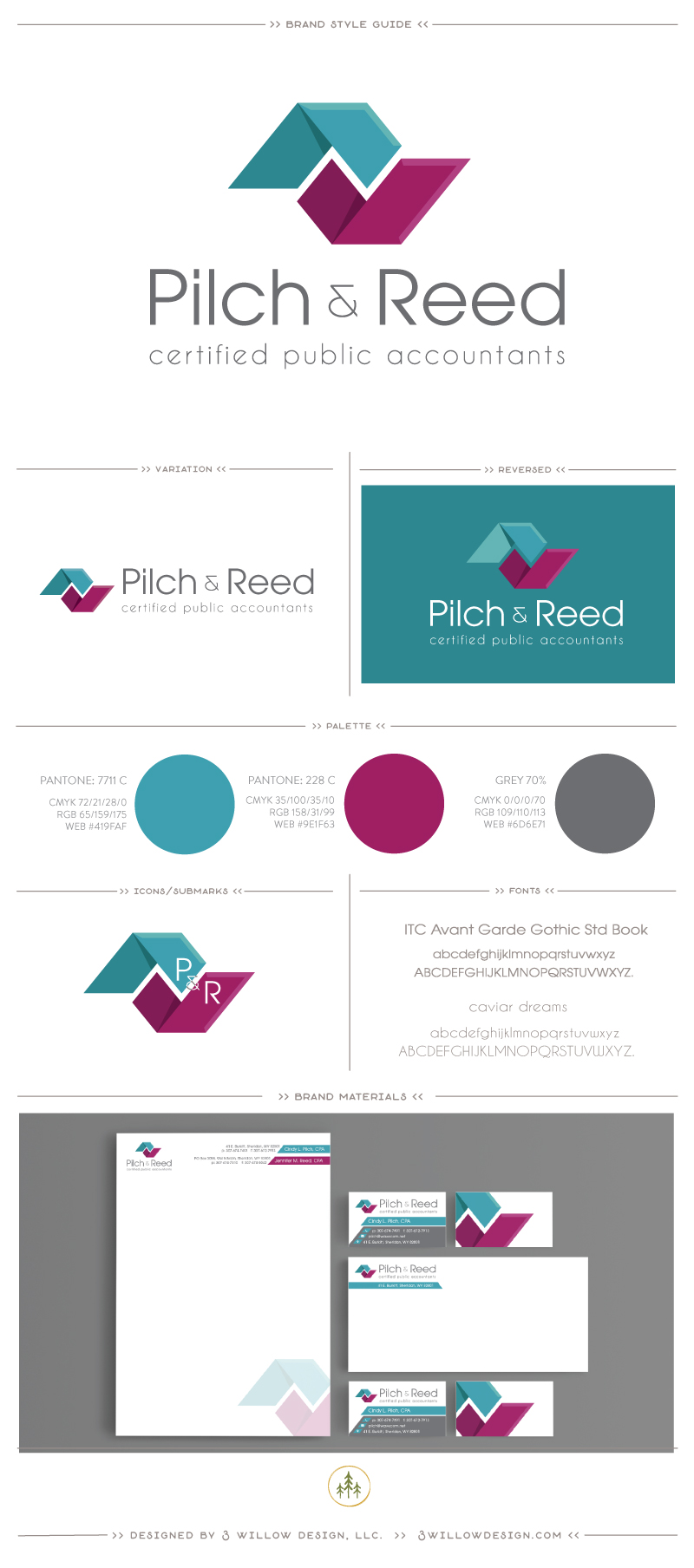 Pilch and Reed Brand Style Guide