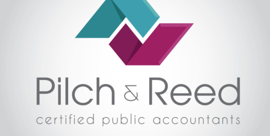 Pilch and Reed CPA logo design