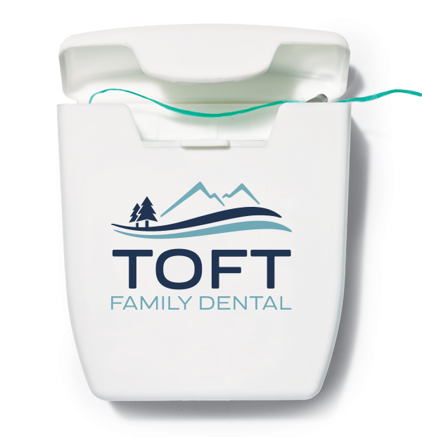 dental office floss container