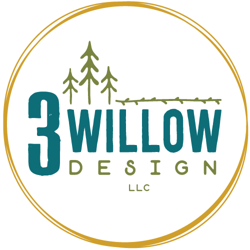 3 Willow Design Logo