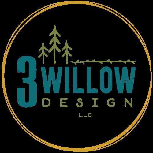 3 Willow Design Logo