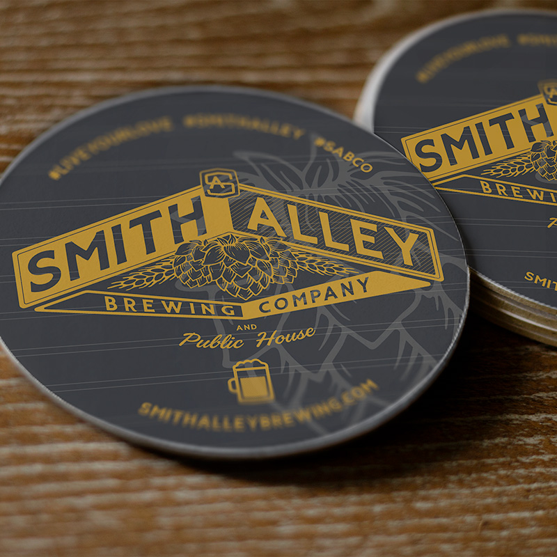 coasters for brewery