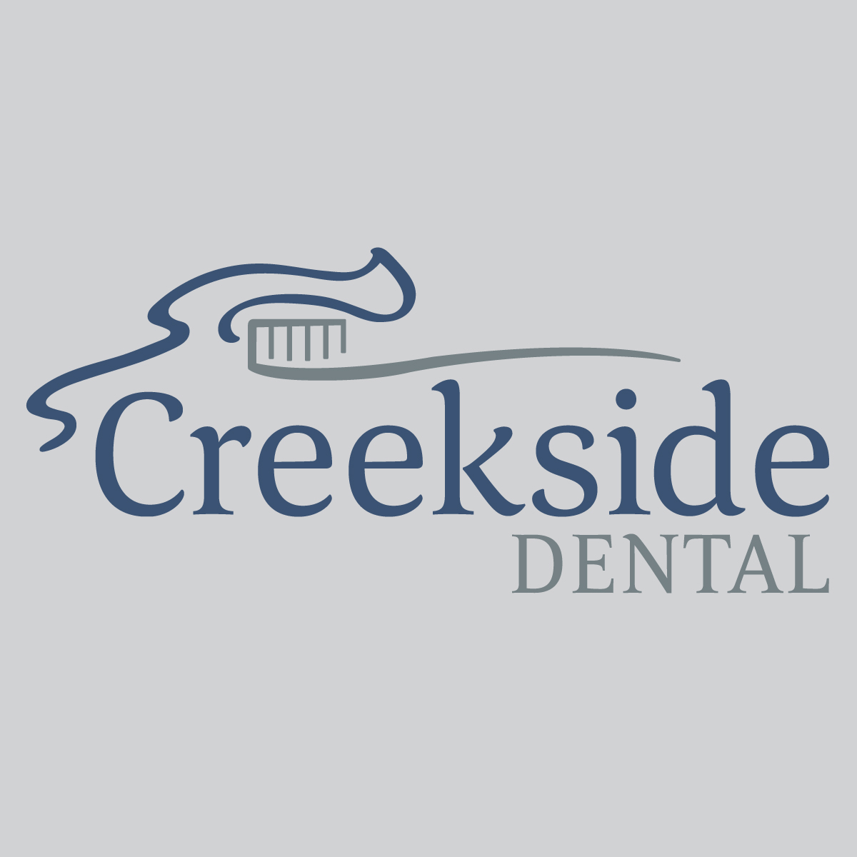 Creekside Dental logo design