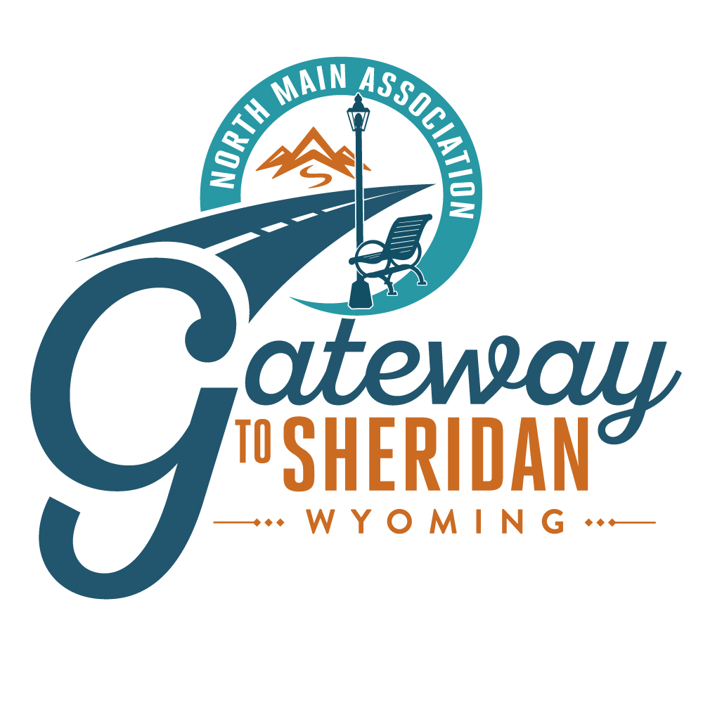 Gateway to Sheridan Wyoming logo design