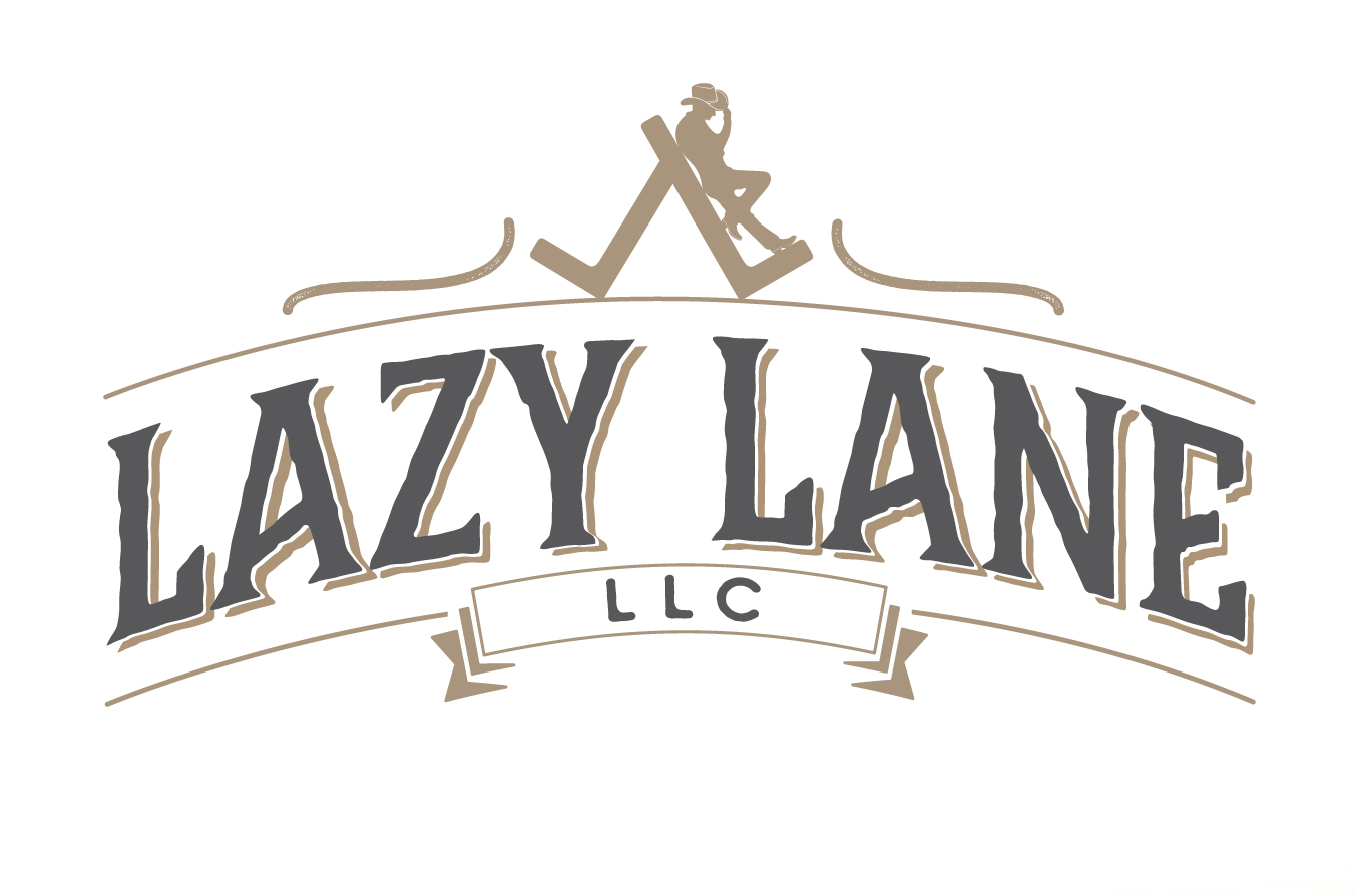 Lazy Lane logo design