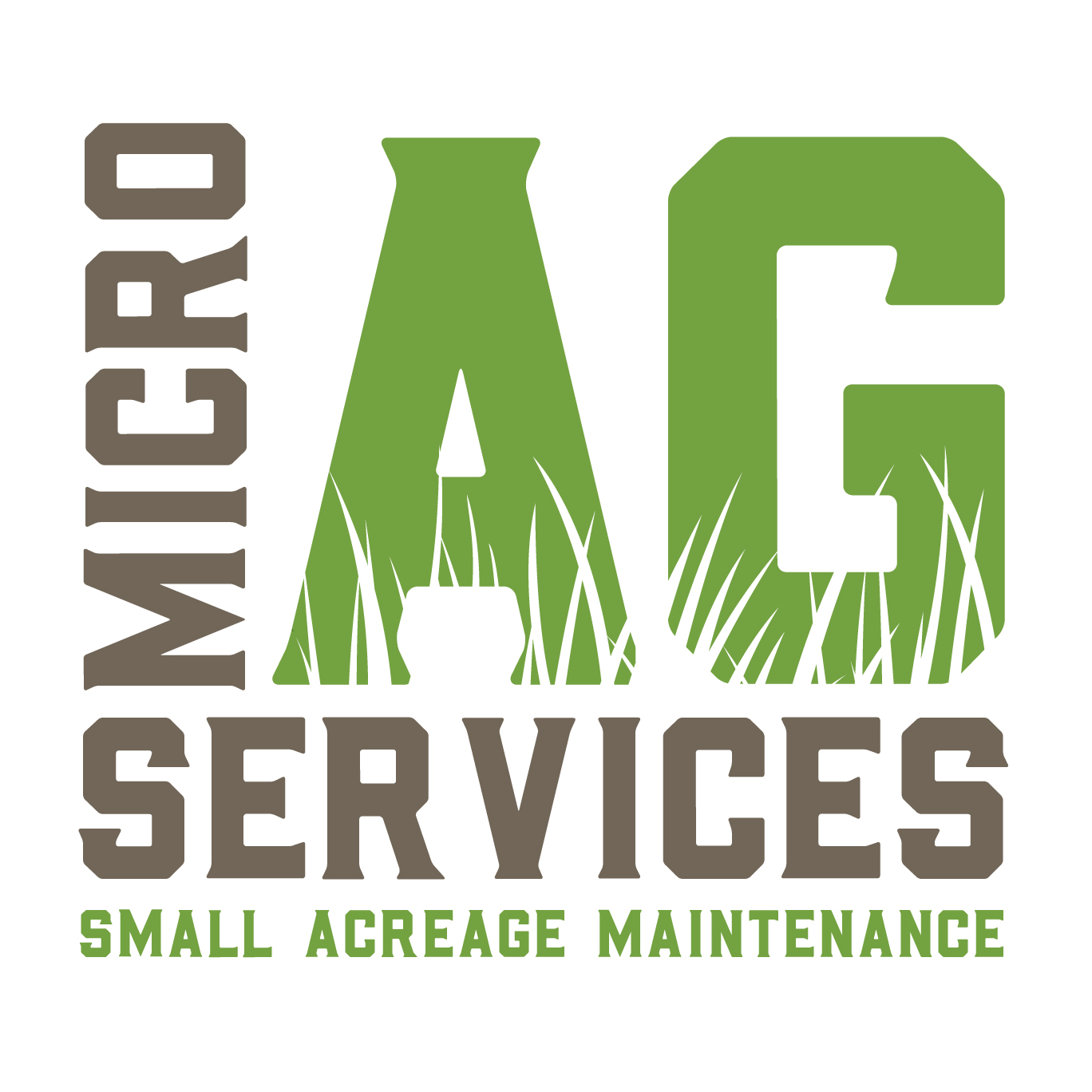 Micro Ag Services business card design