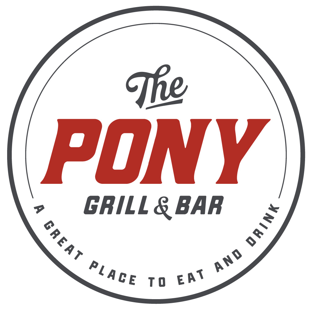The Pony Grill and Bar logo design