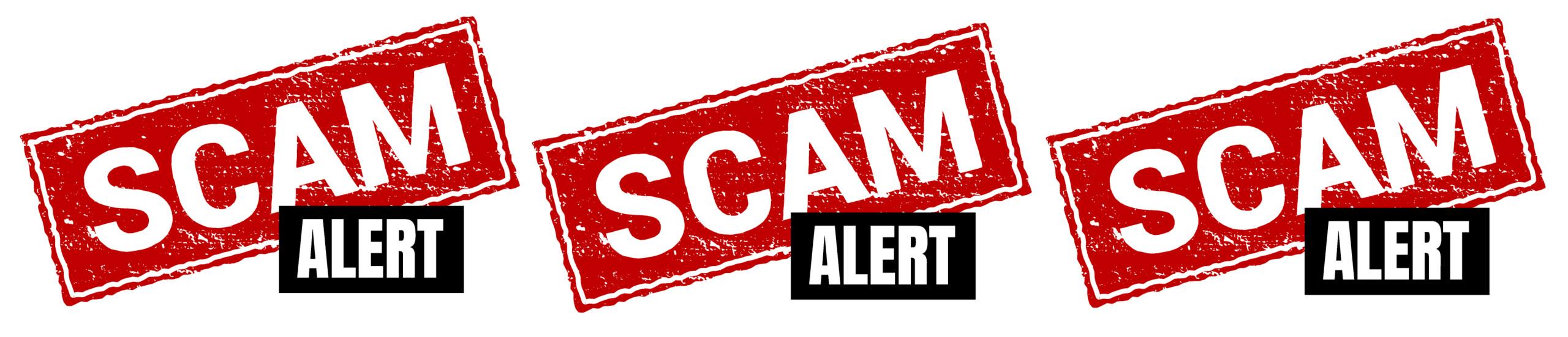 scam alert to graphic designer