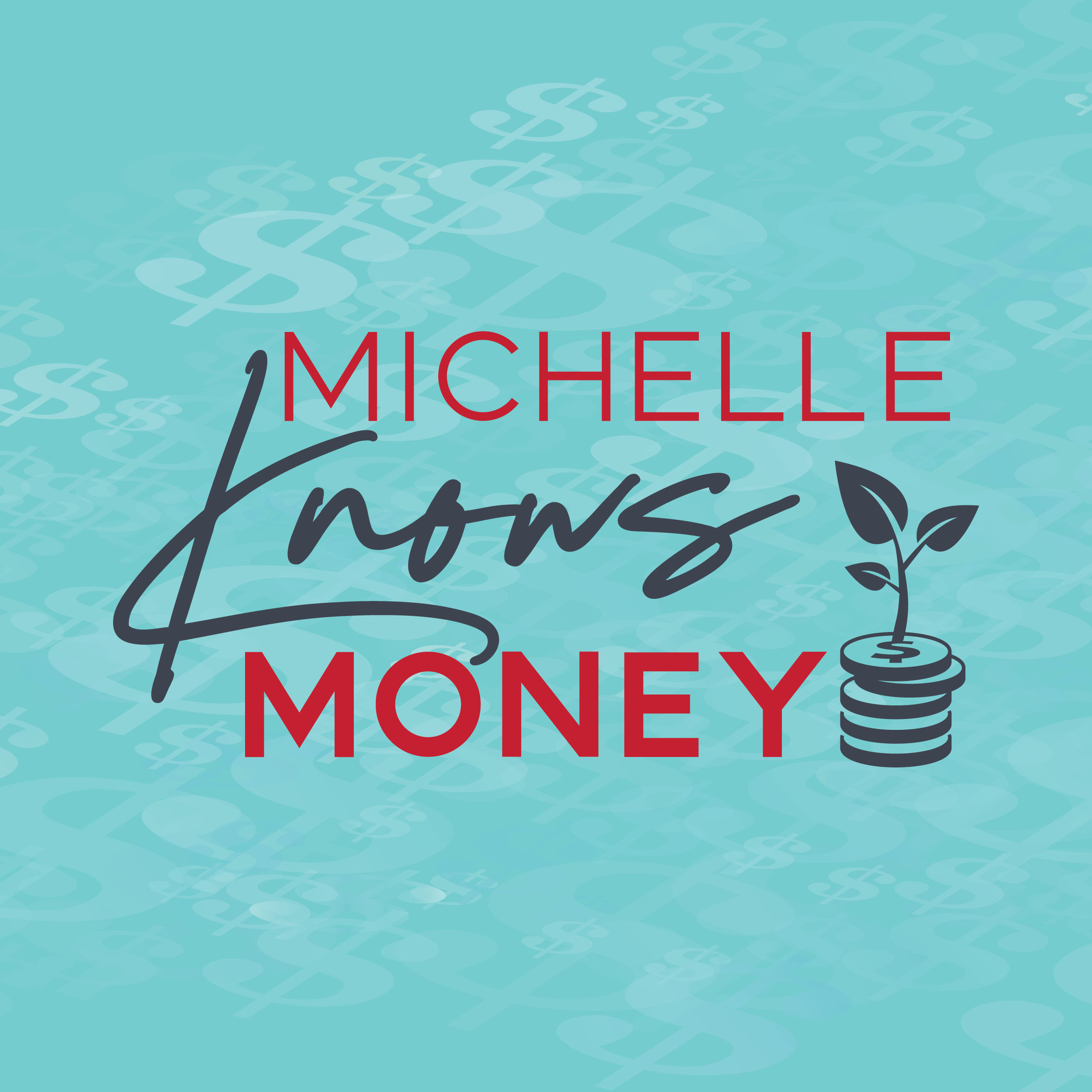 Branding Board for Financial Coach Michelle Knows Money