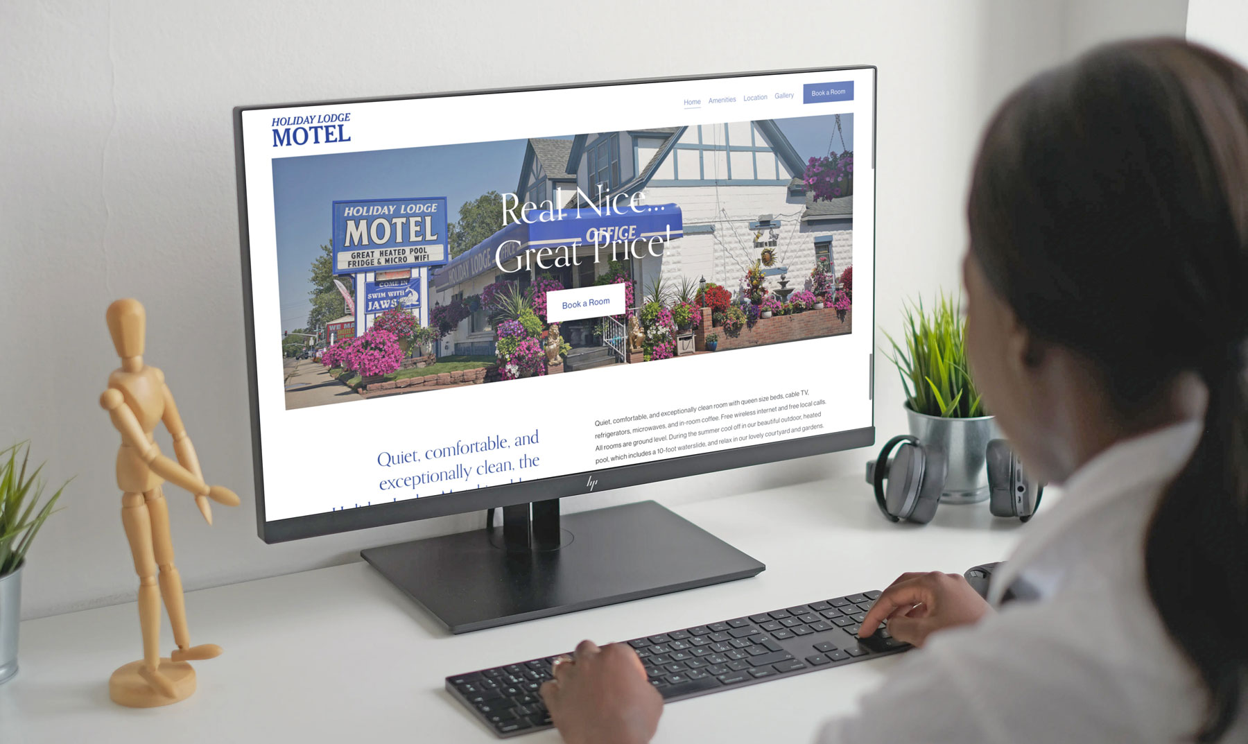 Affordable Hotel/Motel Website design