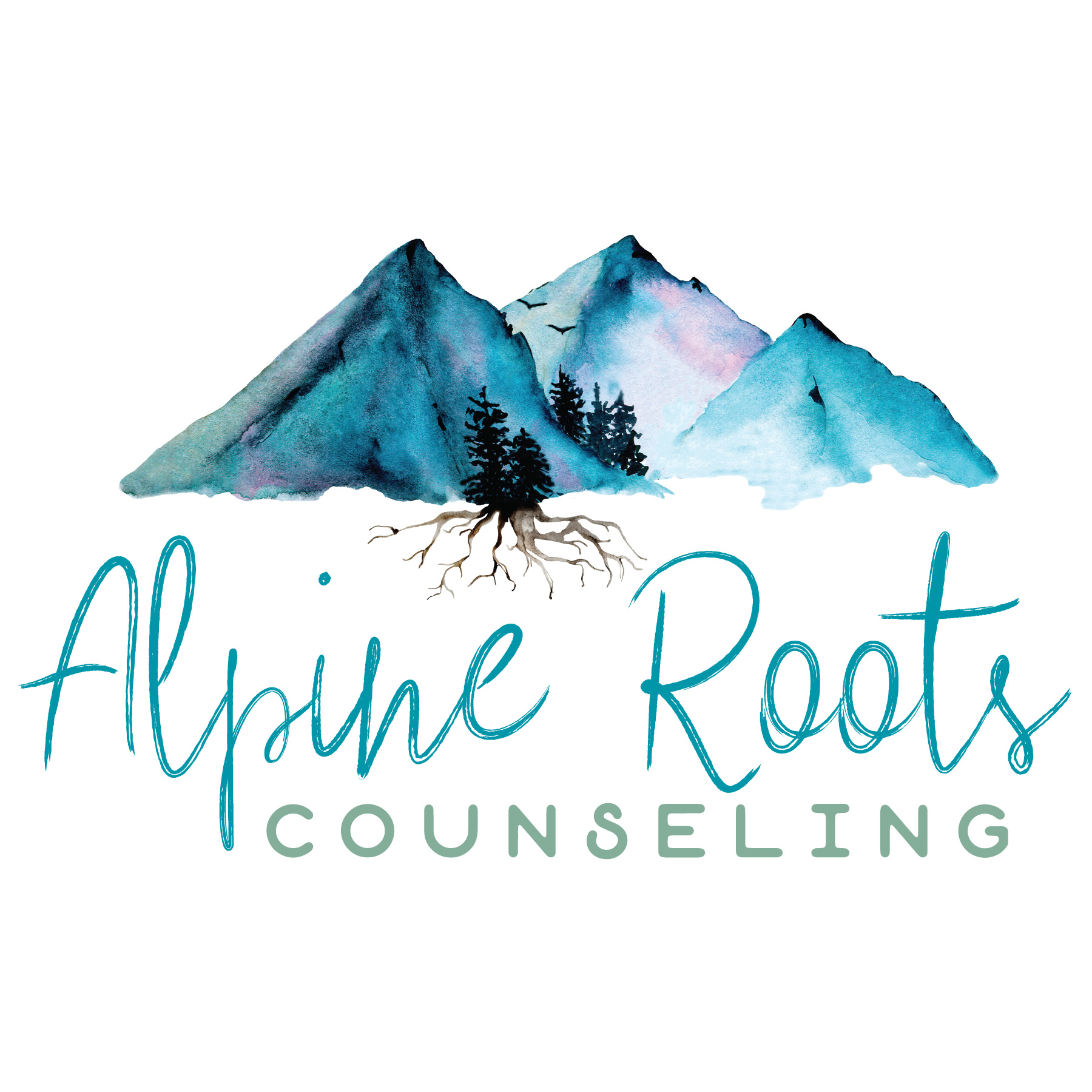 Brand Board Alpine Roots Counseling